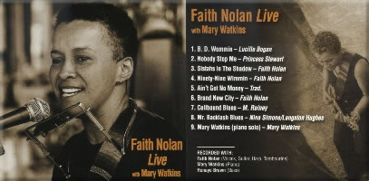faith nolan live with mary watkins